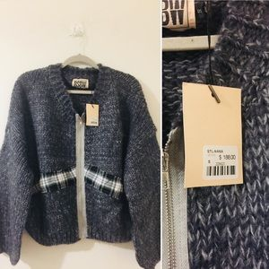 LF Sweaters - New! LF/BSBW chunky knit oversized sweater NWT